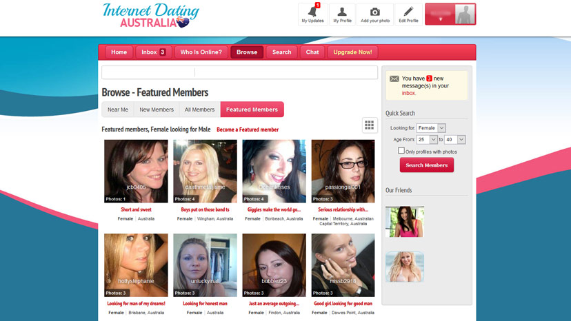 New free dating sites in australia