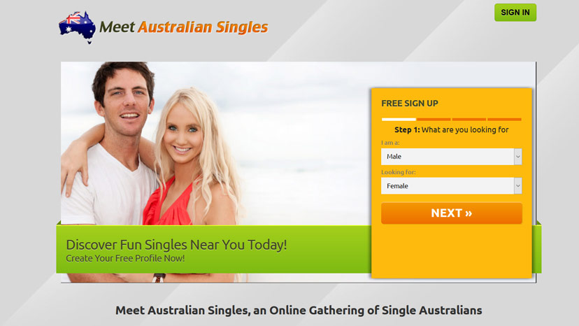 Meeting online dating in Australia