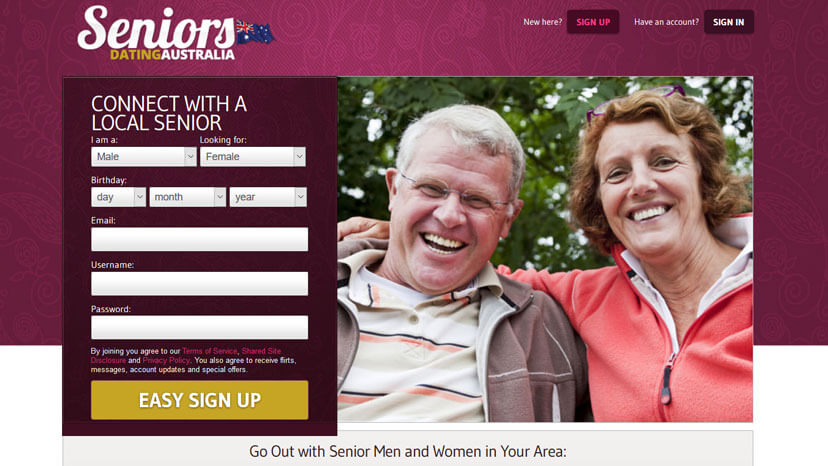 free online dating for seniors in australia