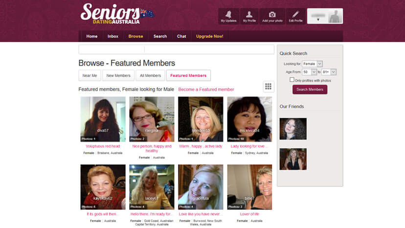 reviews on dating sites for seniors