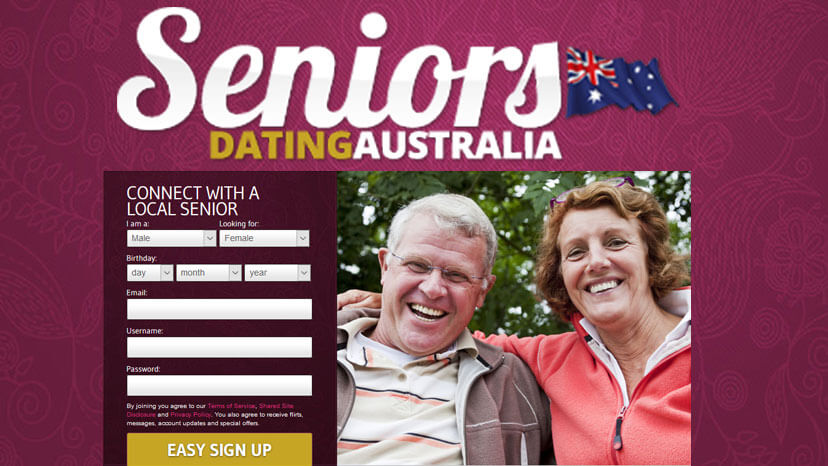 Free seniors dating australia