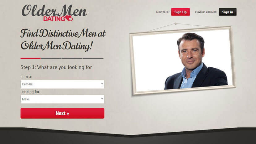 Dating sites for older men