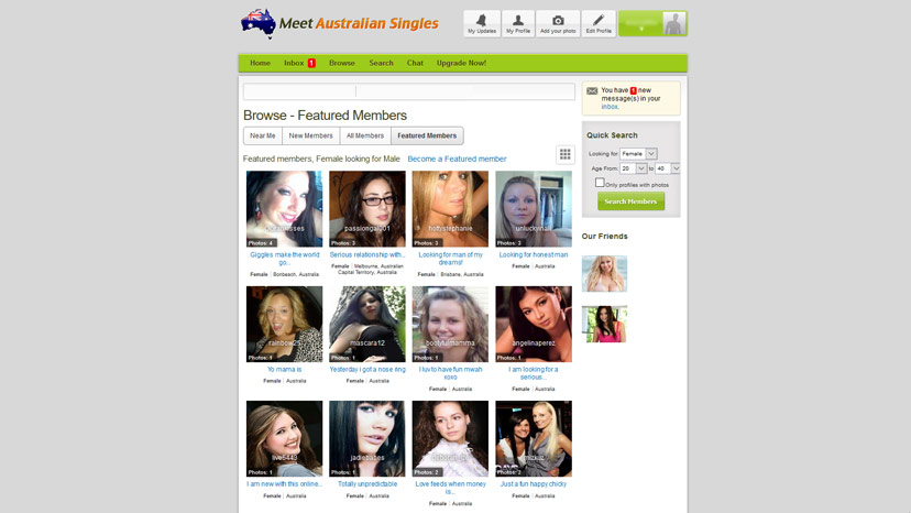 Chat with australian singles