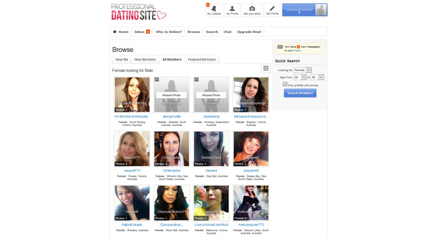 Professional Dating Site Review