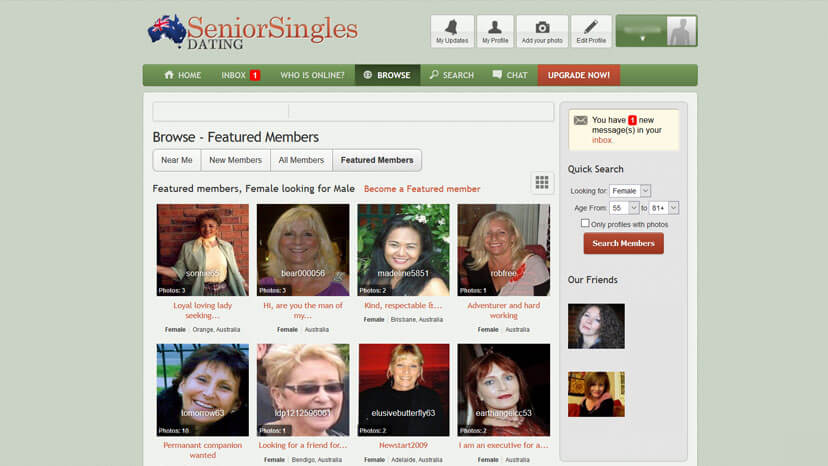 maidsville senior singles Senior dating site for mature singles dating for people in their 40s, 50s & 60s meet someone special today join now.