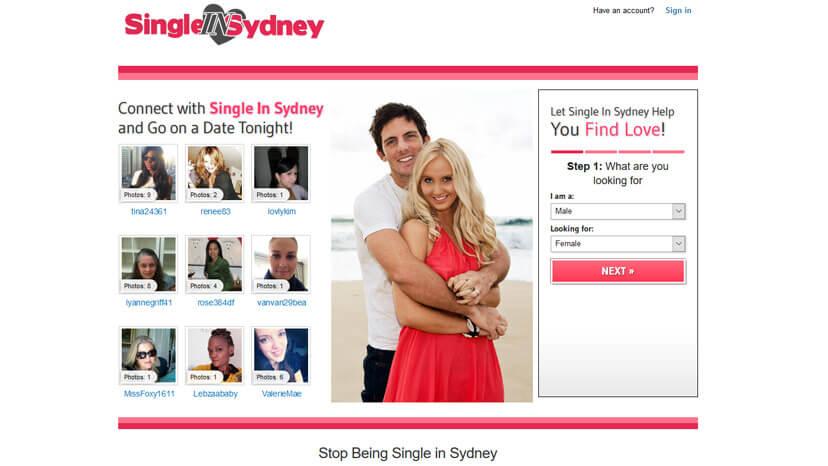 Singles In Sidney